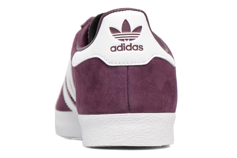 Sneaker Adidas Originals Adidas 350 weinrot ansicht von rechts