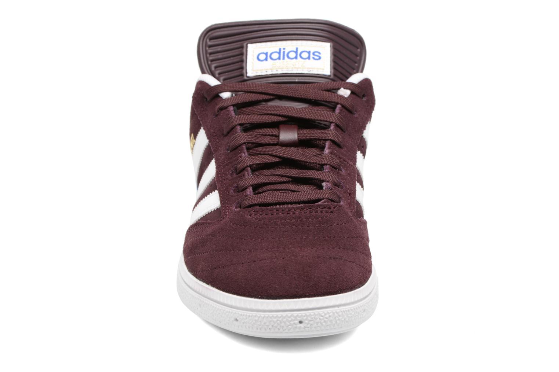 Baskets Adidas Originals Busenitz Bordeaux vue portées chaussures