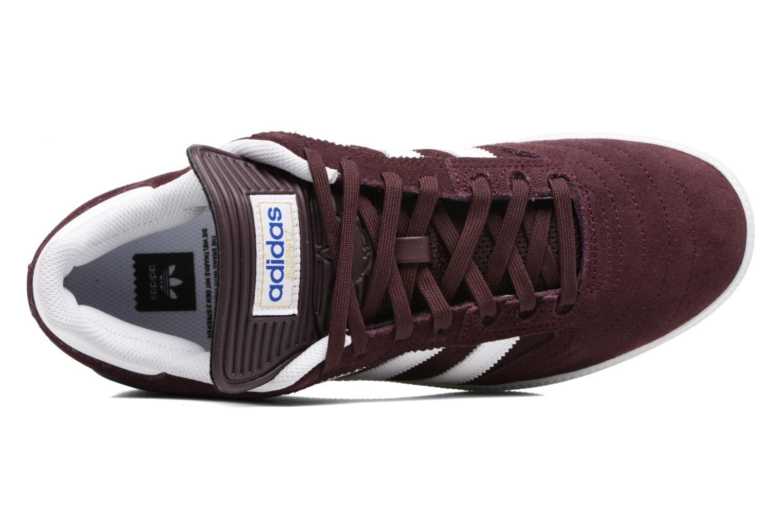 Baskets Adidas Originals Busenitz Bordeaux vue gauche