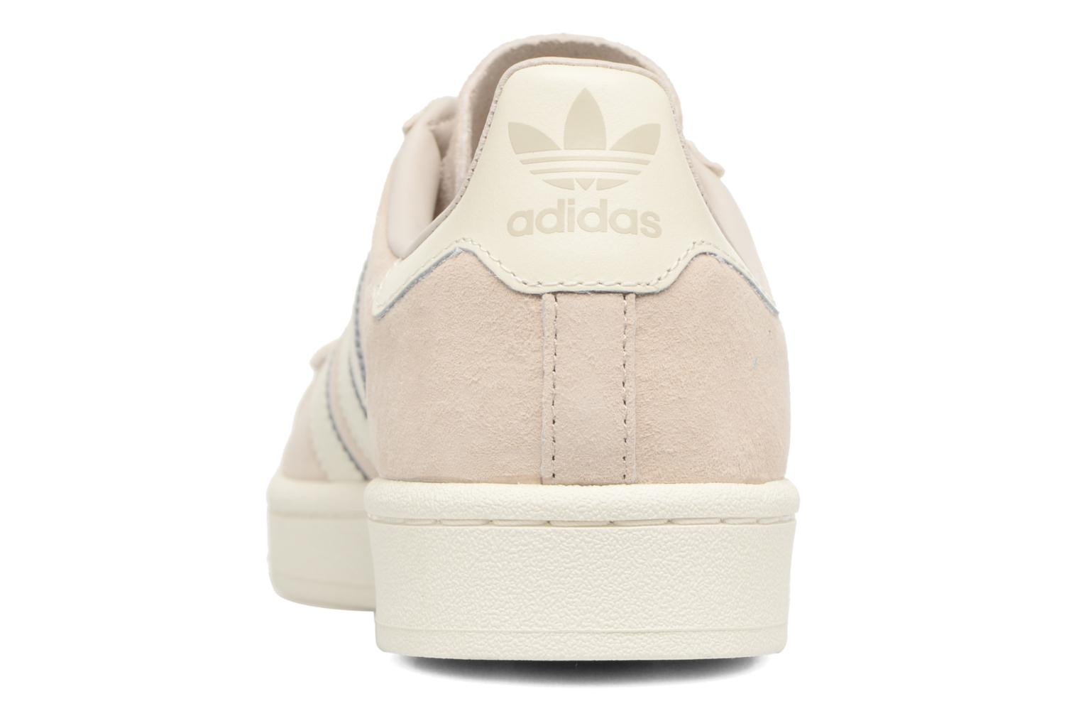 Baskets Adidas Originals Campus Beige vue droite