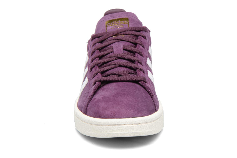 Baskets Adidas Originals Campus W Violet vue portées chaussures
