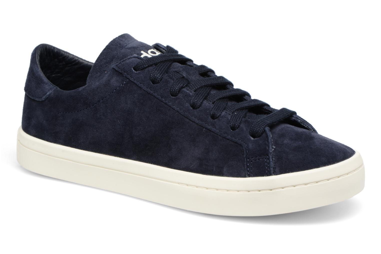 Baskets Adidas Originals Courtvantage W Bleu vue détail/paire