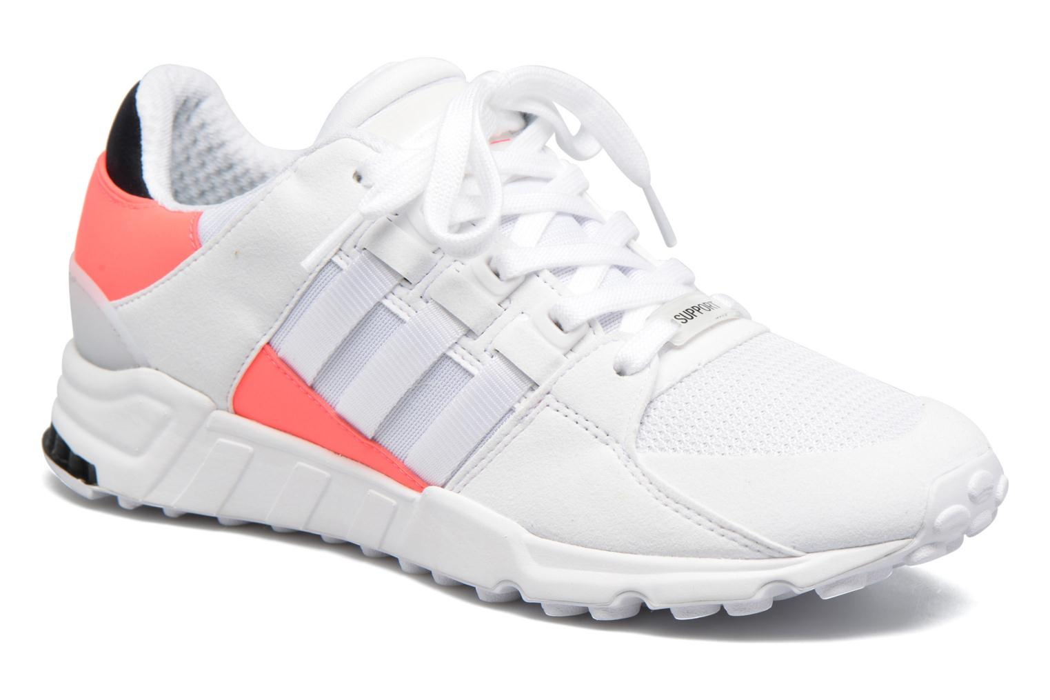 Baskets Adidas Originals Eqt Support Rf Blanc vue détail/paire