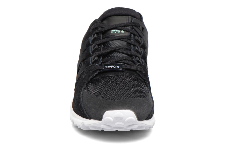 Baskets Adidas Originals Eqt Support Rf W Noir vue portées chaussures