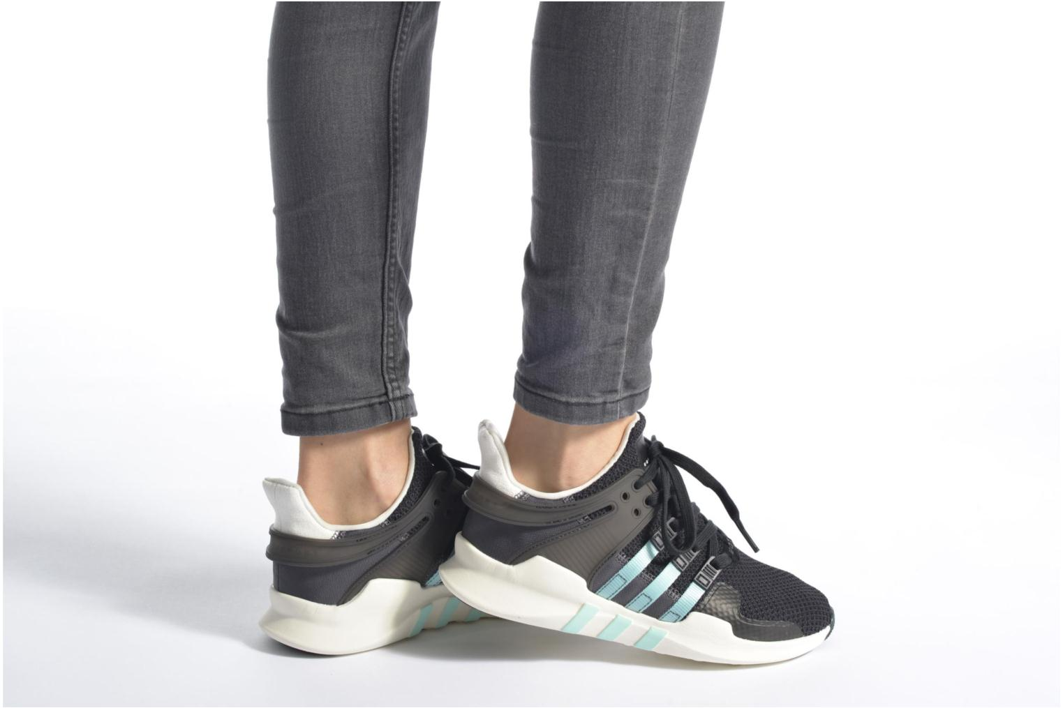 Deportivas Adidas Originals Equipment Support Adv W Negro vista de abajo