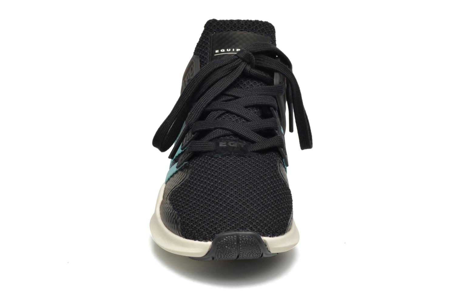 Deportivas Adidas Originals Equipment Support Adv W Negro vista del modelo