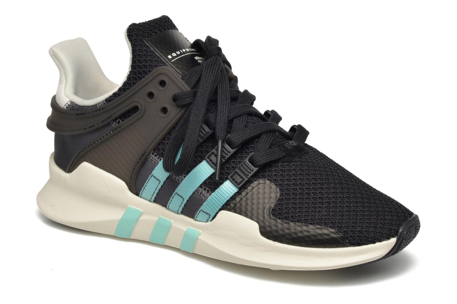 Deportivas Adidas Originals Equipment Support Adv W Negro vista de detalle / par