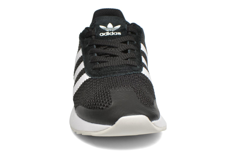 Baskets Adidas Originals Flb W Noir vue portées chaussures