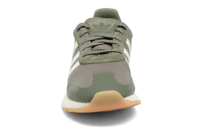 Baskets Adidas Originals Flb W Vert vue portées chaussures