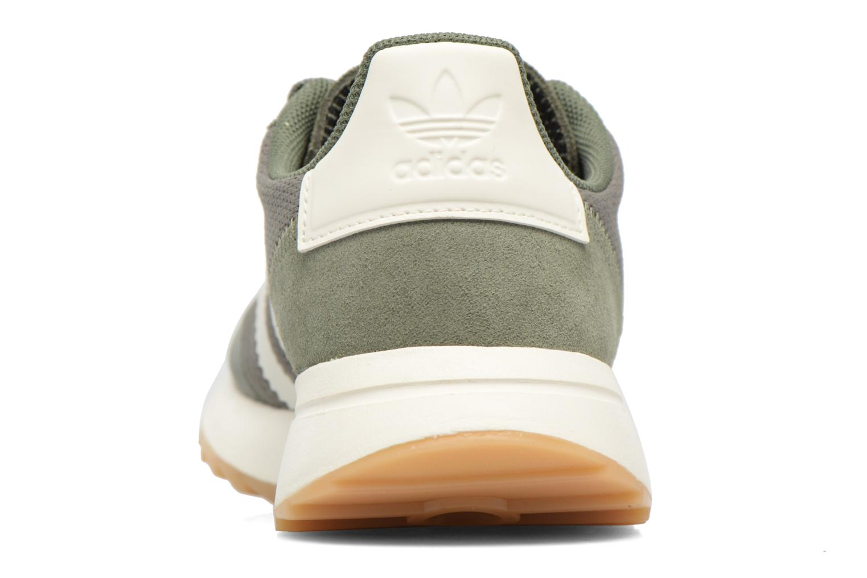 Baskets Adidas Originals Flb W Vert vue droite