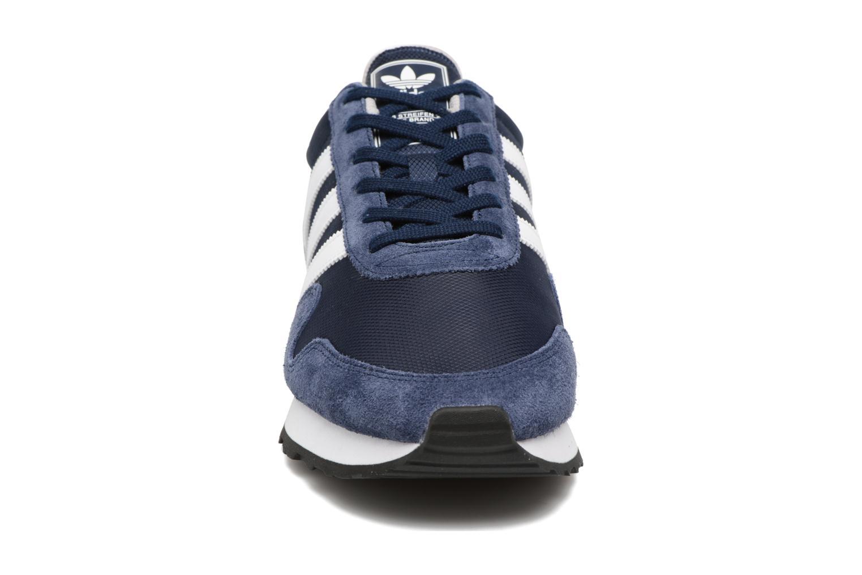 Baskets Adidas Originals Haven Bleu vue portées chaussures