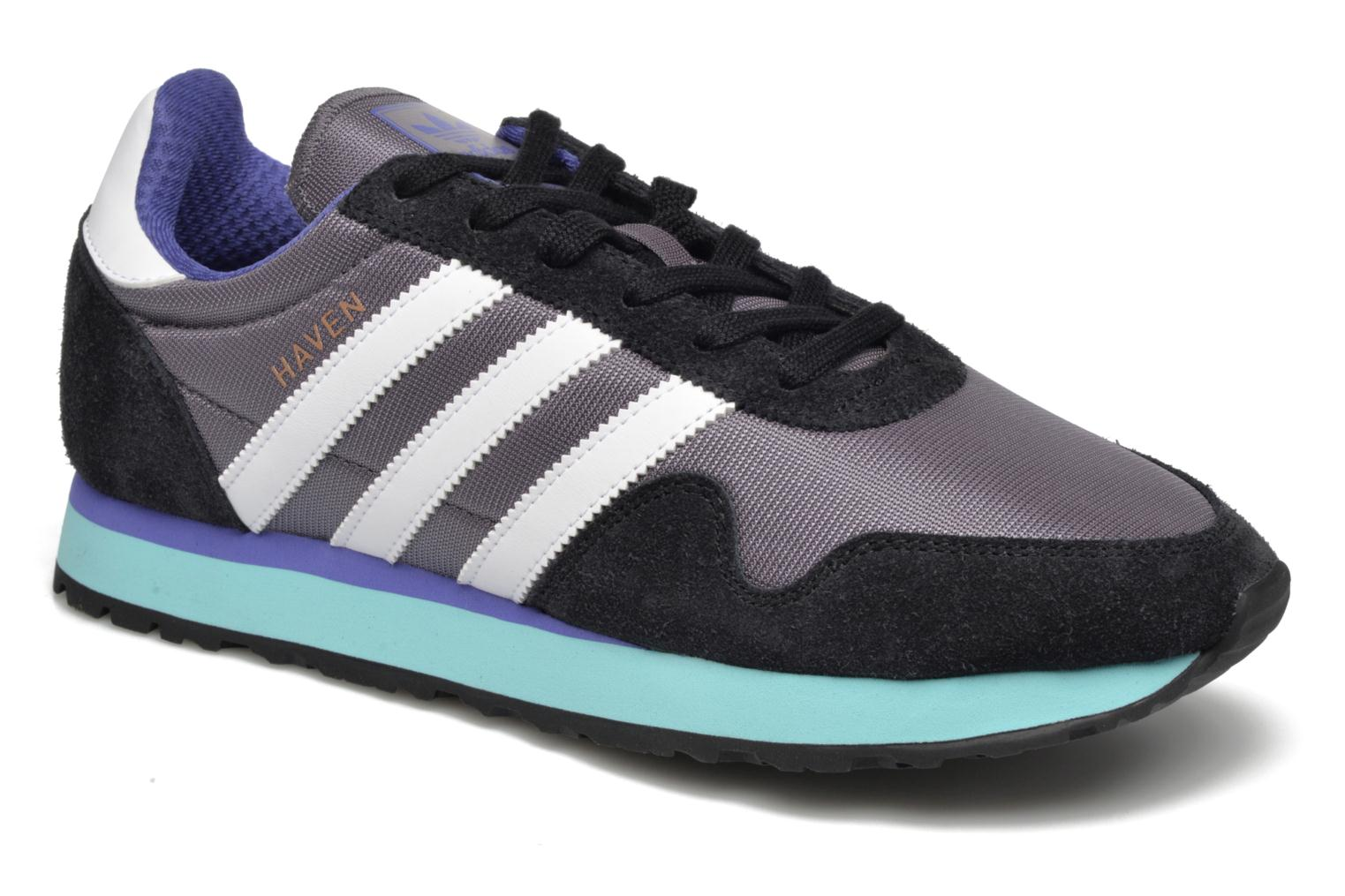 Rouge/Ftwbla/Gomme3 Adidas Originals Haven (Rouge)