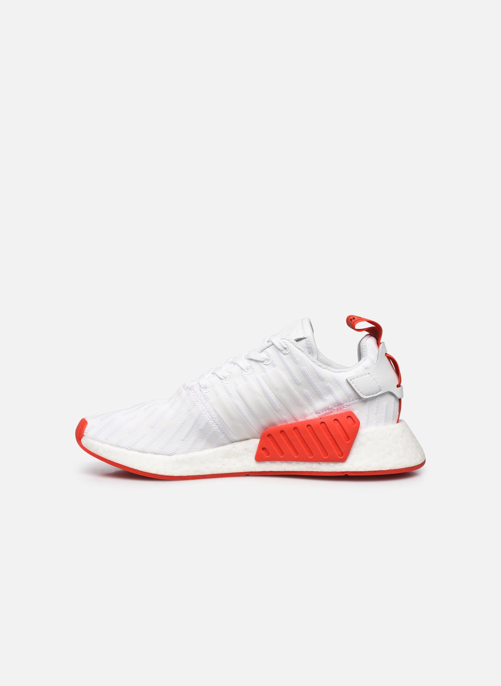 Sneaker Adidas Originals Nmd_R2 Pk weiß ansicht von vorne