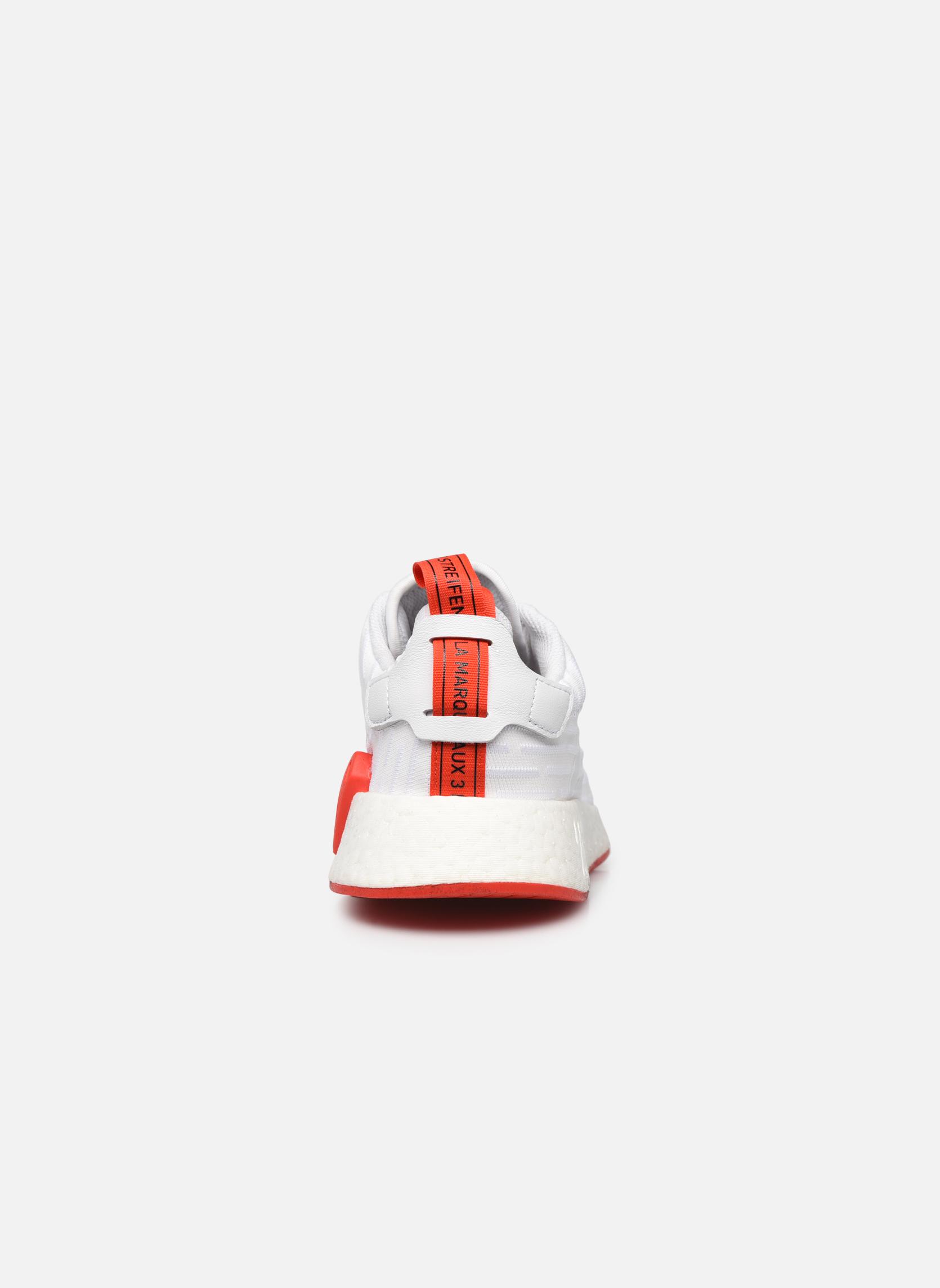 Sneaker Adidas Originals Nmd_R2 Pk weiß ansicht von rechts