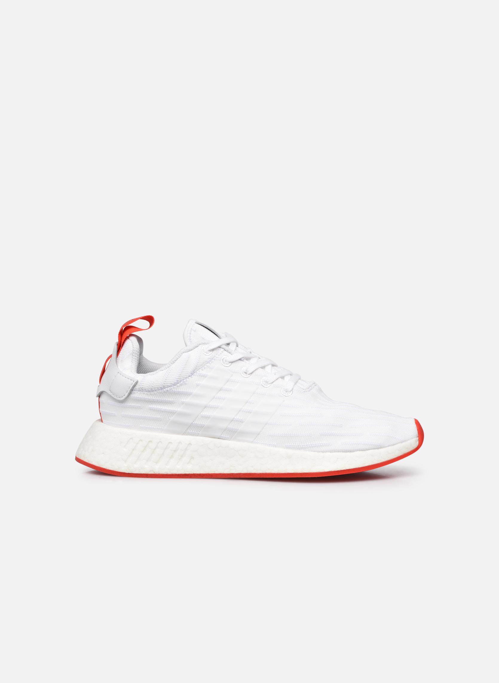 Sneakers Adidas Originals Nmd_R2 Pk Bianco immagine posteriore