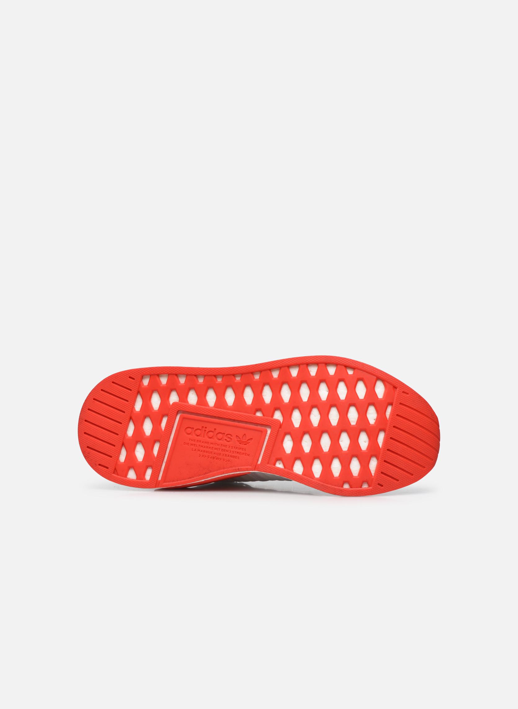 Sneakers Adidas Originals Nmd_R2 Pk Bianco immagine dall'alto