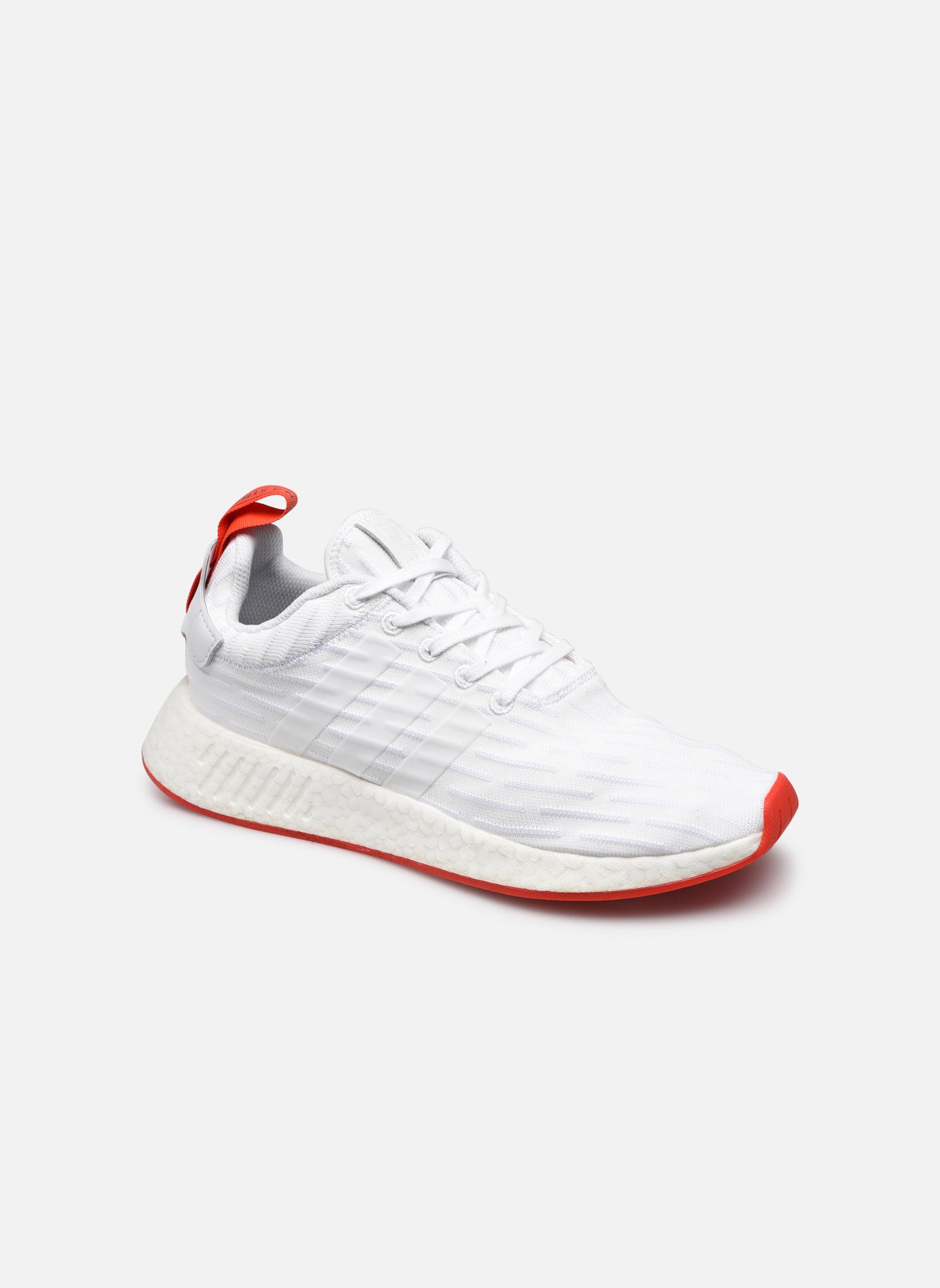 Sneakers Adidas Originals Nmd_R2 Pk Bianco vedi dettaglio/paio