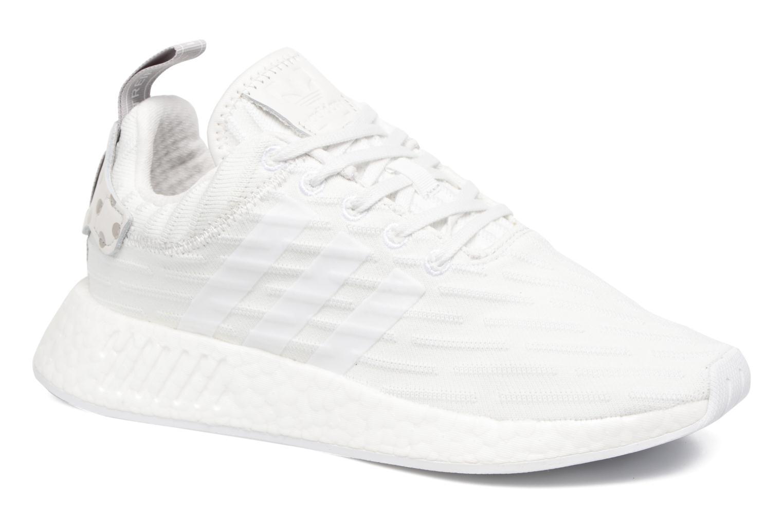Baskets Adidas Originals Nmd_R2 W Blanc vue détail/paire