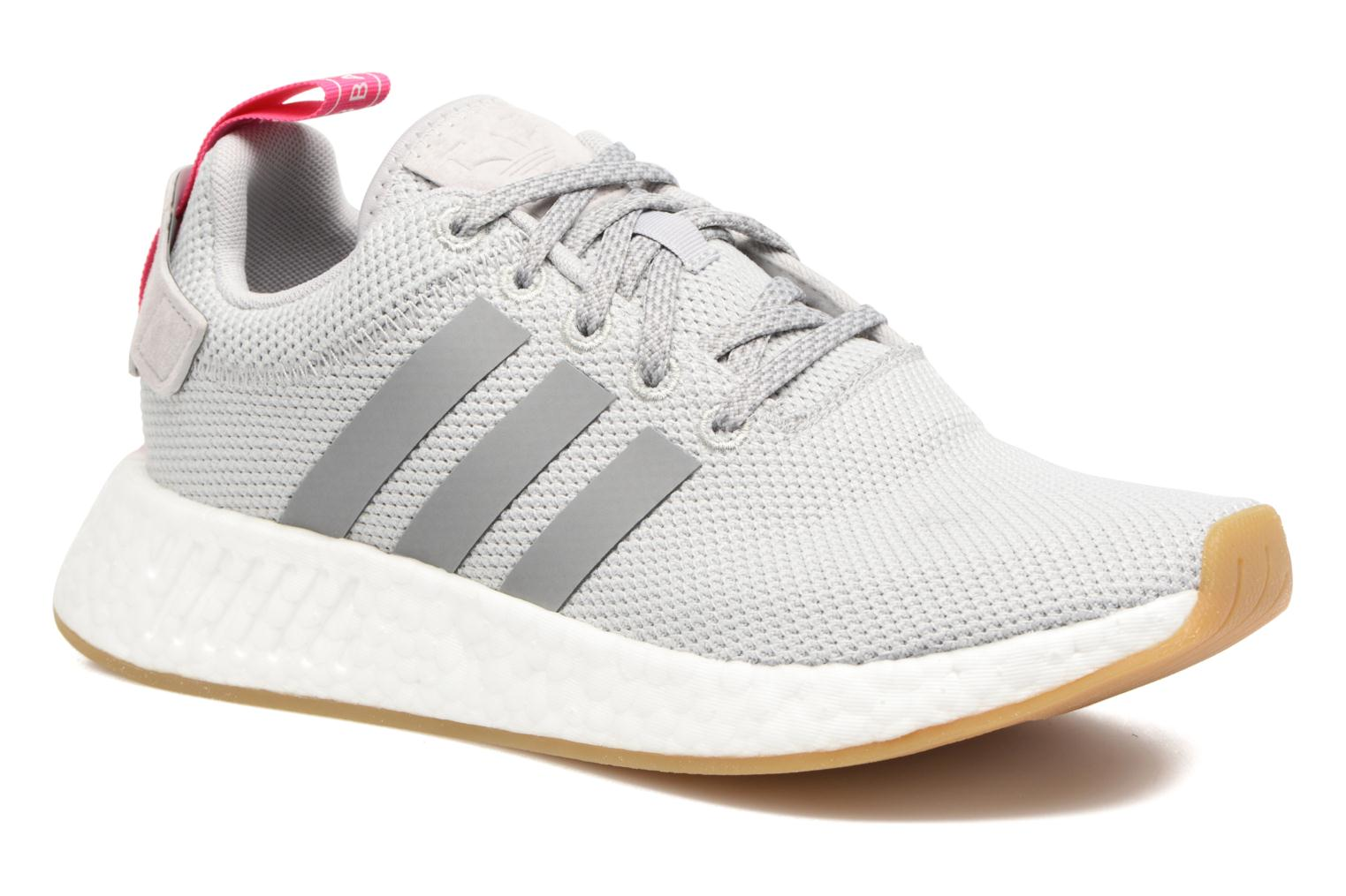 Roscen/Blacry/Ftwbla Adidas Originals Nmd_R2 W (Rose)