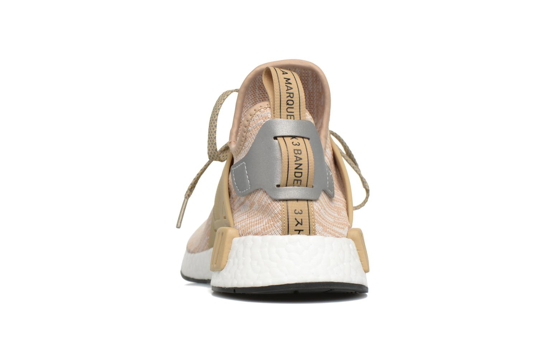 Sneakers Adidas Originals Nmd_Xr1 Pk Beige rechts