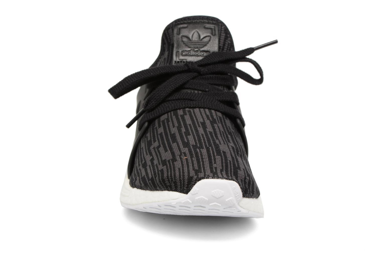 Sneakers Adidas Originals Nmd_Xr1 Pk W Nero modello indossato