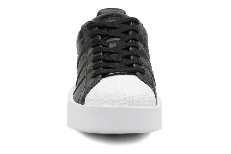 Baskets Adidas Originals Superstar Bold W Noir vue portées chaussures
