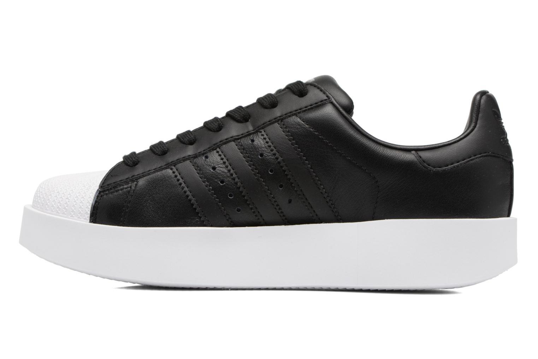 Baskets Adidas Originals Superstar Bold W Noir vue face