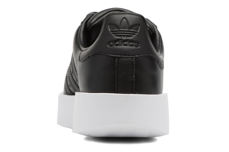 Baskets Adidas Originals Superstar Bold W Noir vue droite