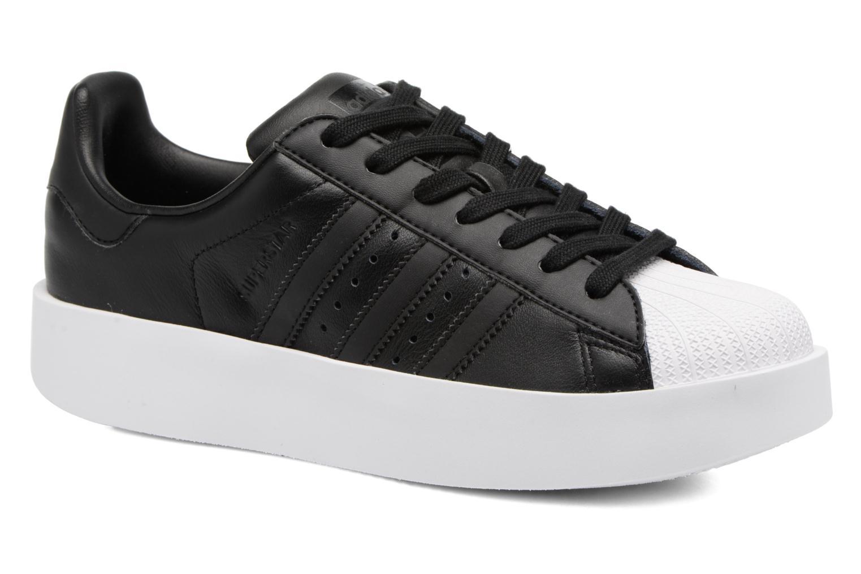 Baskets Adidas Originals Superstar Bold W Noir vue détail/paire
