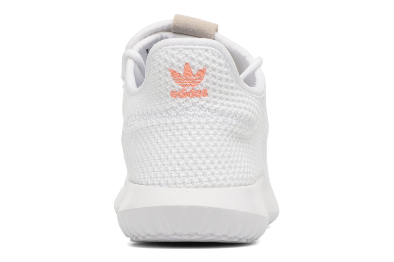Baskets Adidas Originals Tubular Shadow W Blanc vue droite