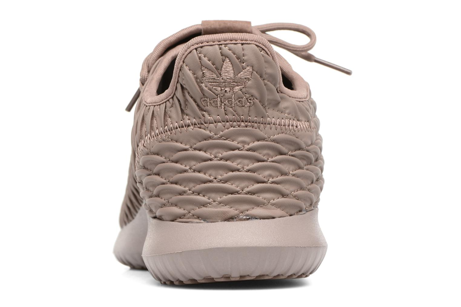 Baskets Adidas Originals Tubular Shadow Marron vue droite