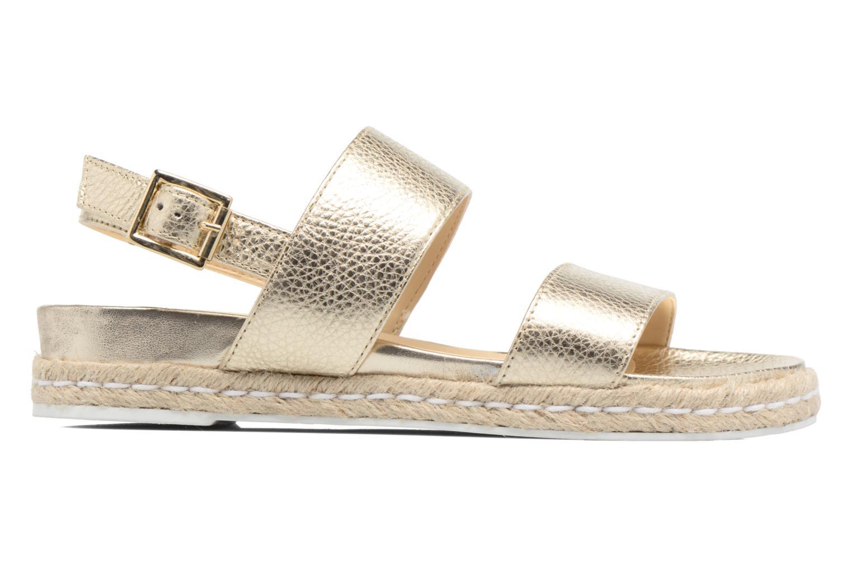 Sandales et nu-pieds Dune London Lacrosse Or et bronze vue derrière