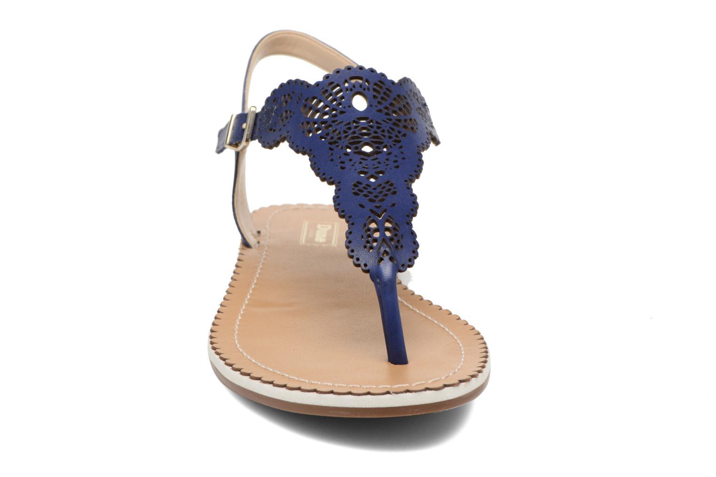 Sandales et nu-pieds Dune London Lill Bleu vue portées chaussures