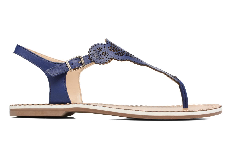 Sandales et nu-pieds Dune London Lill Bleu vue derrière