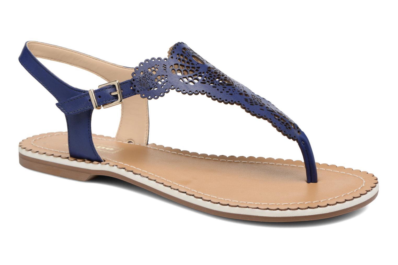 Sandales et nu-pieds Dune London Lill Bleu vue détail/paire