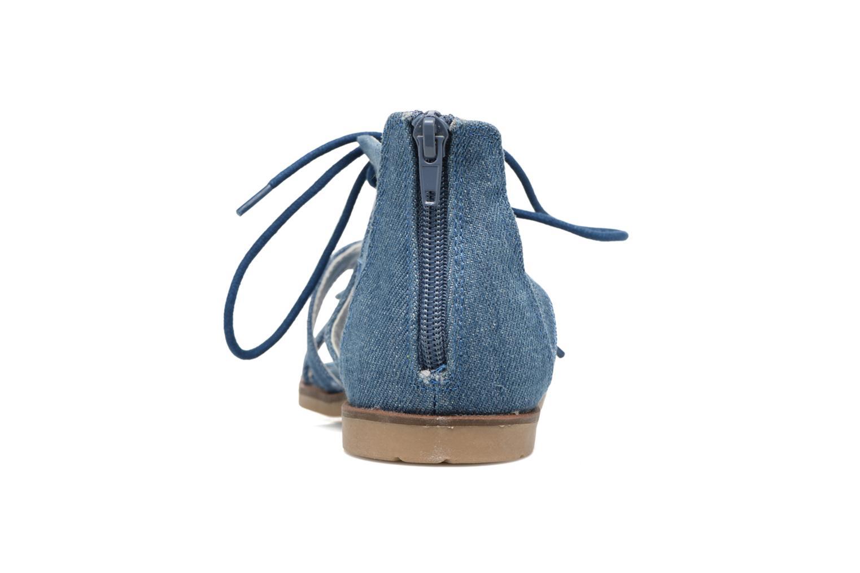 Sandalen I Love Shoes SUMINIGLI Blauw rechts