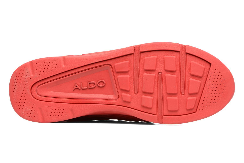 Baskets Aldo ZEAVEN Rouge vue haut