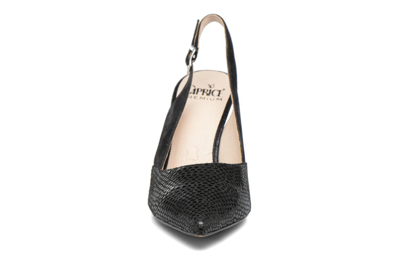 Escarpins Caprice Effi Noir vue portées chaussures