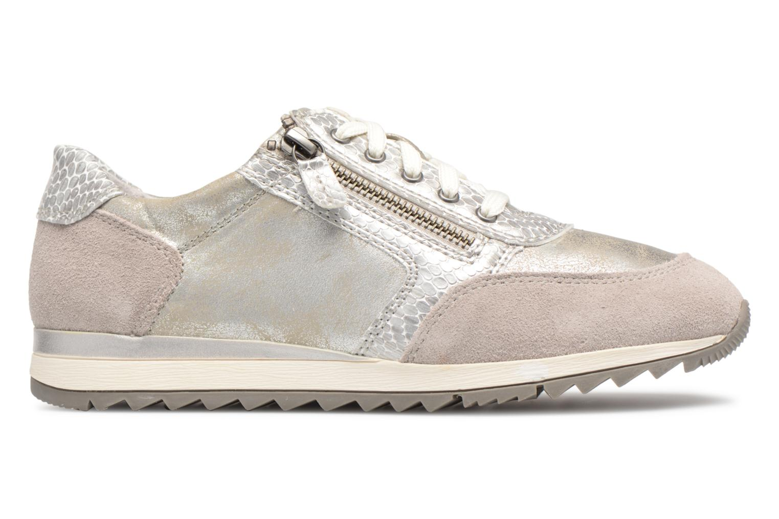 Sneakers Jana shoes Tania Zilver achterkant