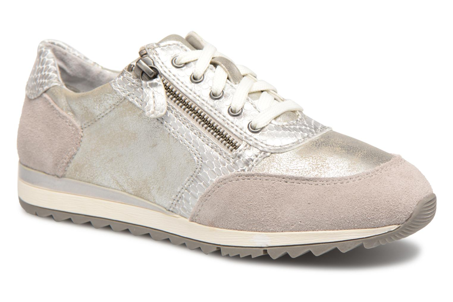 Trainers Jana shoes Tania Silver detailed view/ Pair view