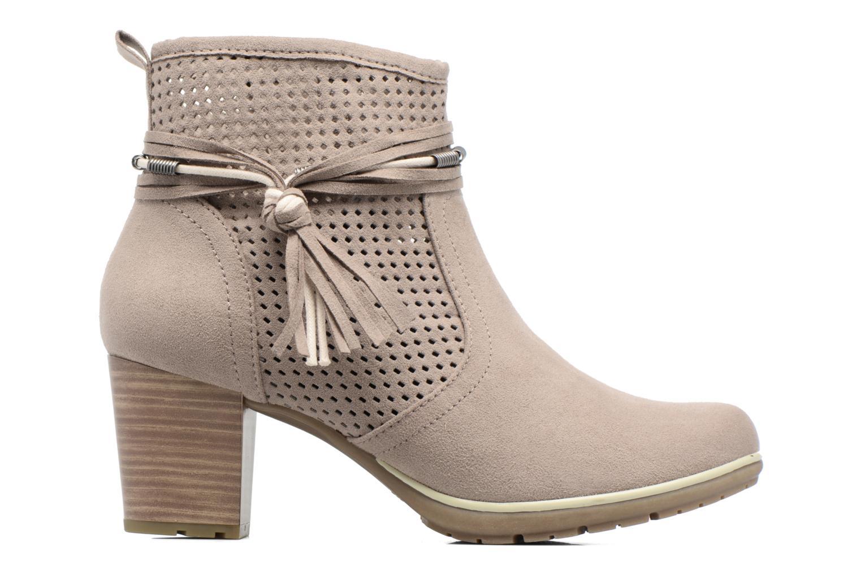 Boots en enkellaarsjes Jana shoes Paz Grijs achterkant