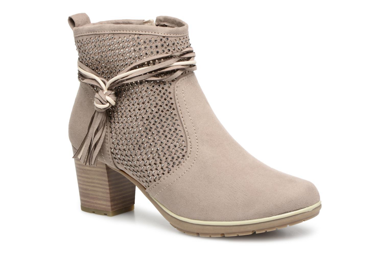 Jana shoes Paz (Beige) - Bottines et boots chez Sarenza (322331)