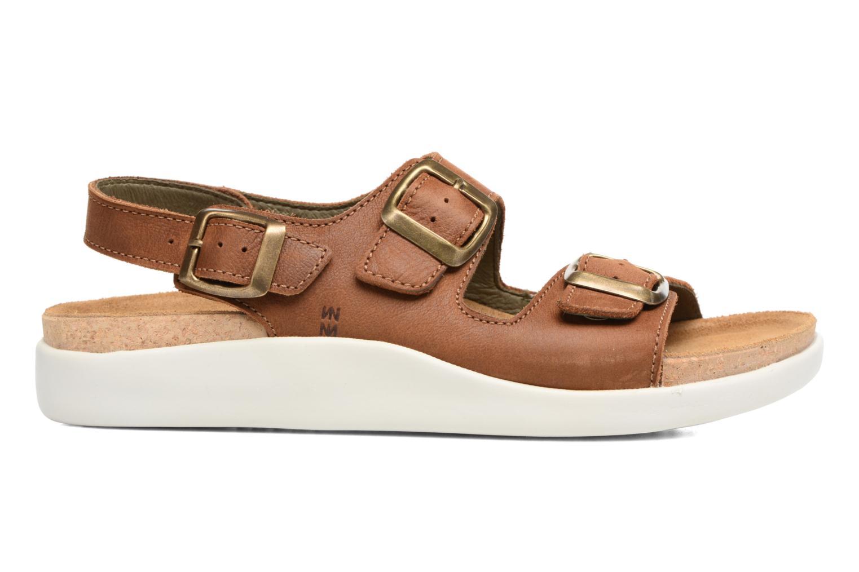 Sandales et nu-pieds El Naturalista Koi N5091 Marron vue derrière