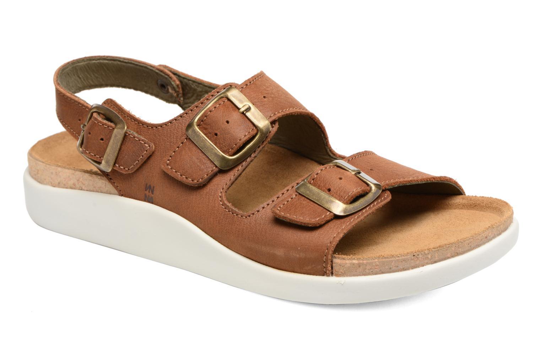 Sandales et nu-pieds El Naturalista Koi N5091 Marron vue détail/paire