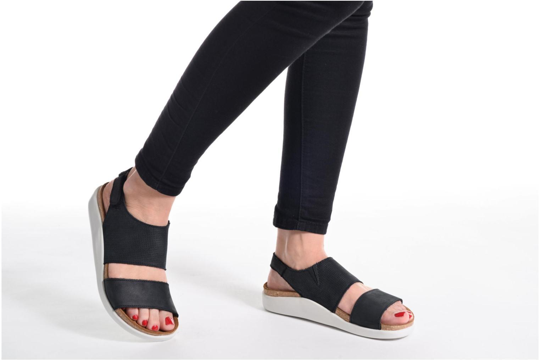 Sandales et nu-pieds El Naturalista Koi 5093 Noir vue bas / vue portée sac