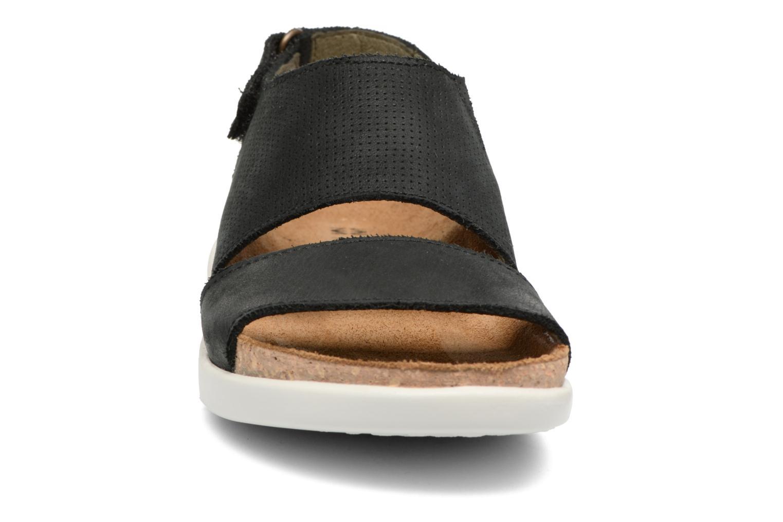 Sandales et nu-pieds El Naturalista Koi 5093 Noir vue portées chaussures