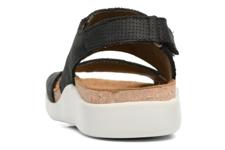 Sandales et nu-pieds El Naturalista Koi 5093 Noir vue droite