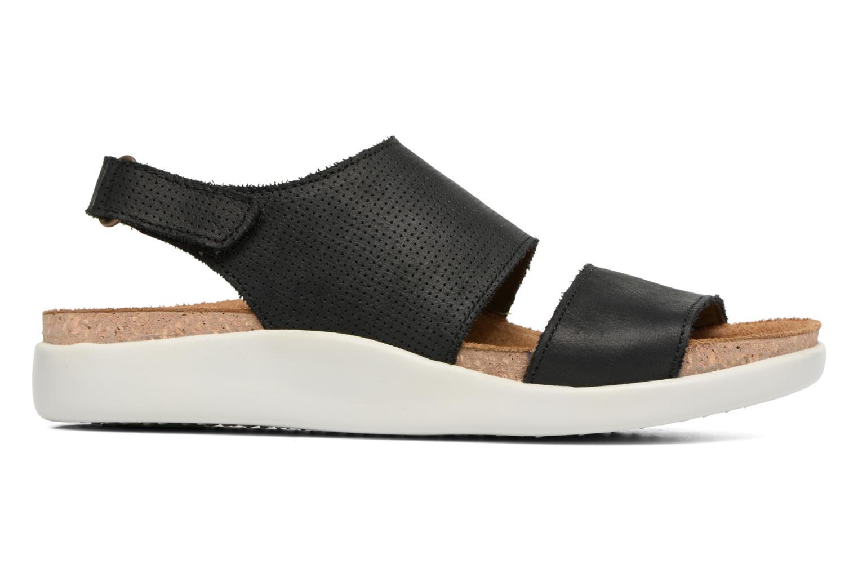 Sandales et nu-pieds El Naturalista Koi 5093 Noir vue derrière