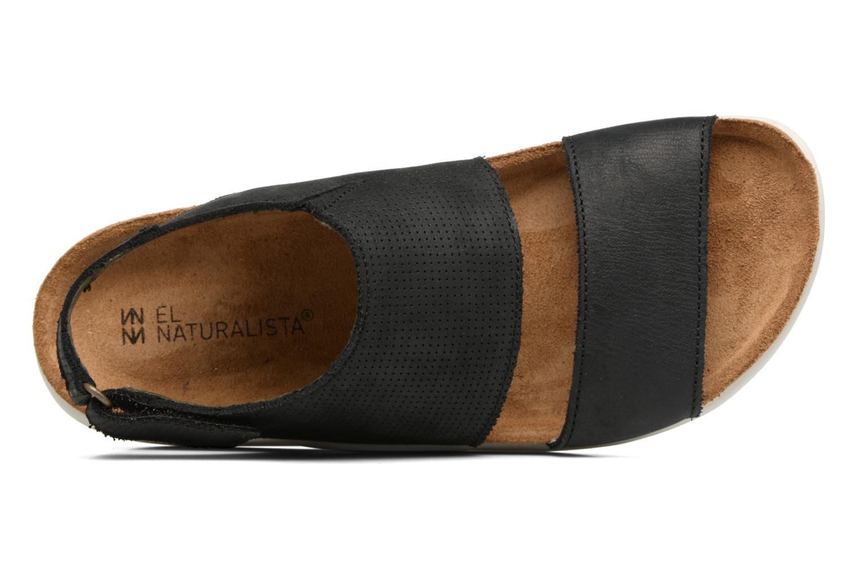 Sandales et nu-pieds El Naturalista Koi 5093 Noir vue gauche