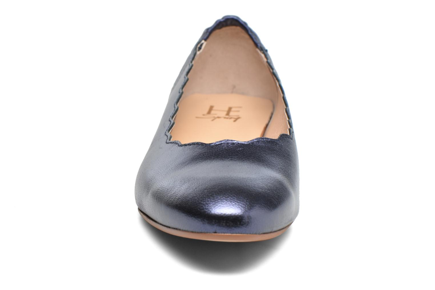 Ballerines HE Spring Coco 2 Bleu vue portées chaussures